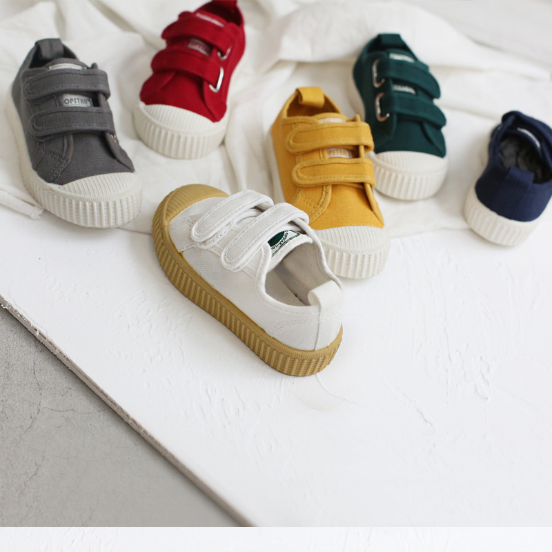 Kids Shoes Girls Boys Sneakers Bobo Choses Canvas Children Breathable Shoes 2018 Autumn Running Sport Baby Soft Casule Sneaker