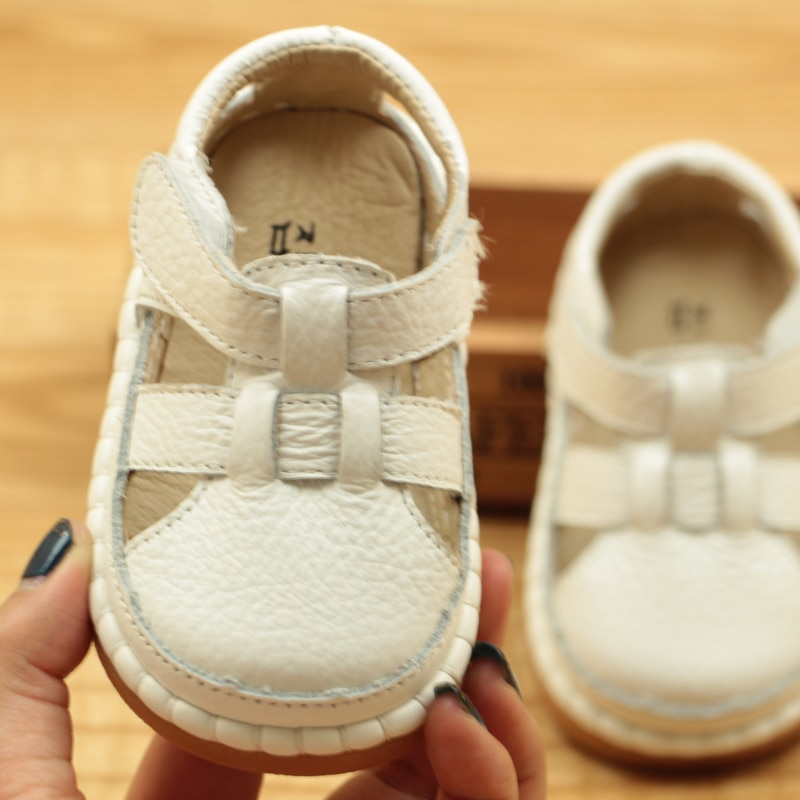 2018 Summer Baby Shoes 1-3 Years Old Anti Slip Soft Bottom Baotou Toddler Shoes