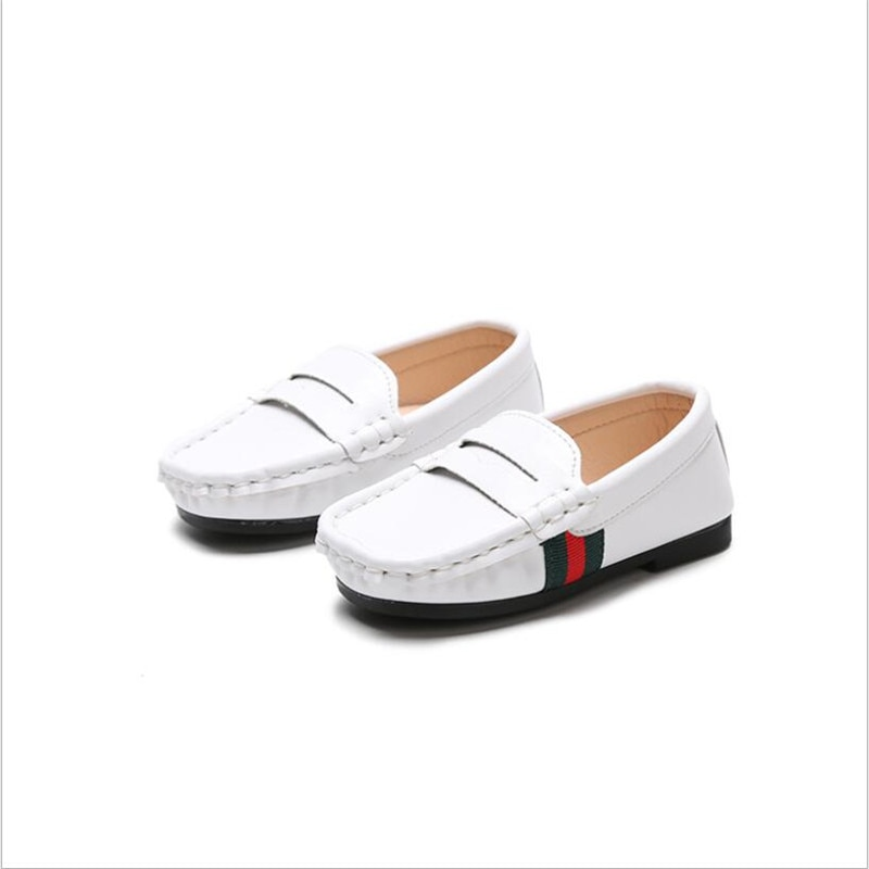 2018 spring new male and female children's shoes wave single shoe children one foot pedal pea shoe baby school shoes