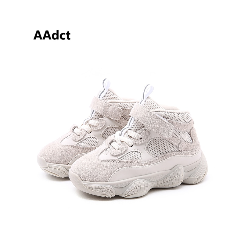 AAdct 2018 Mesh Running sports Baby shoes Breathable Sneaker for little boys girls High quality Non-slip little kids shoes