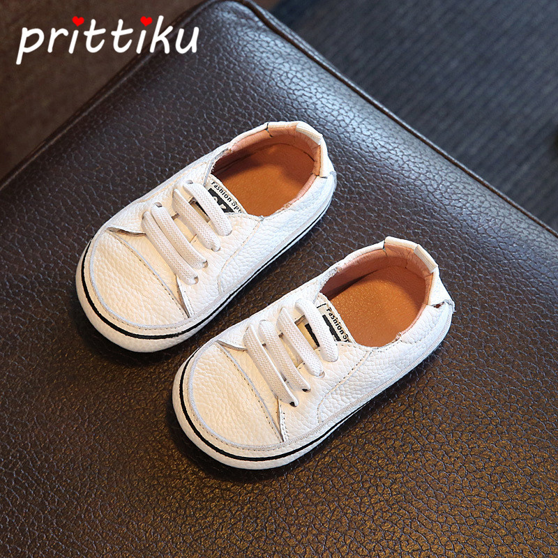 Baby Boy Girl Infant Newborn Children Shoes Casual Kids Shoes Girls Boys Shoes Genuine Leather Sneakers First Walker Prewalker