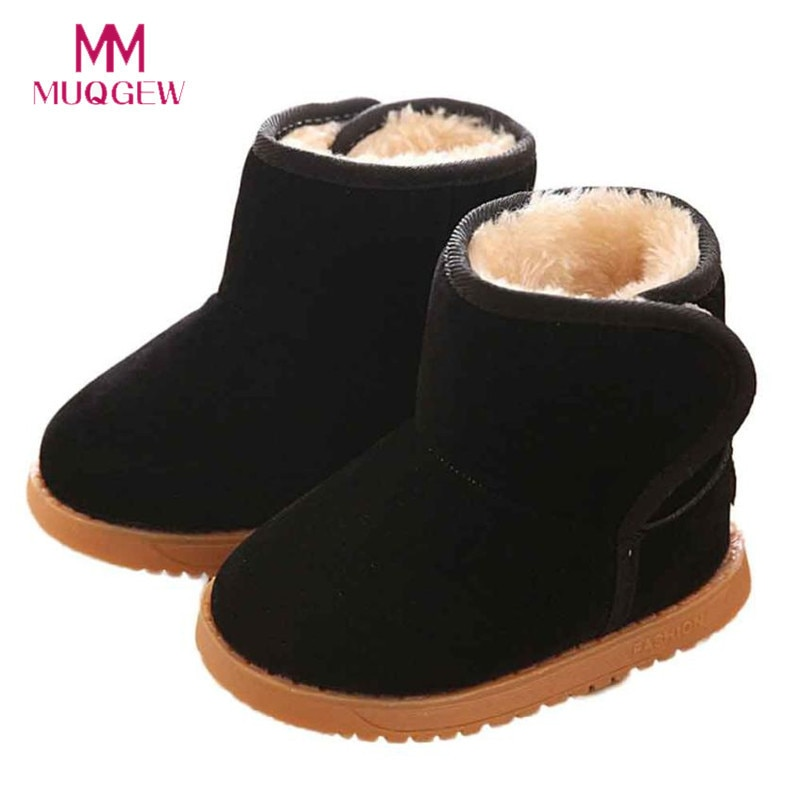 Fashion Winter Baby Shoes Child Style Cotton Baby Boots Winter Warm Snow Boots Chaussure Enfant Winter Snow Boot For Baby