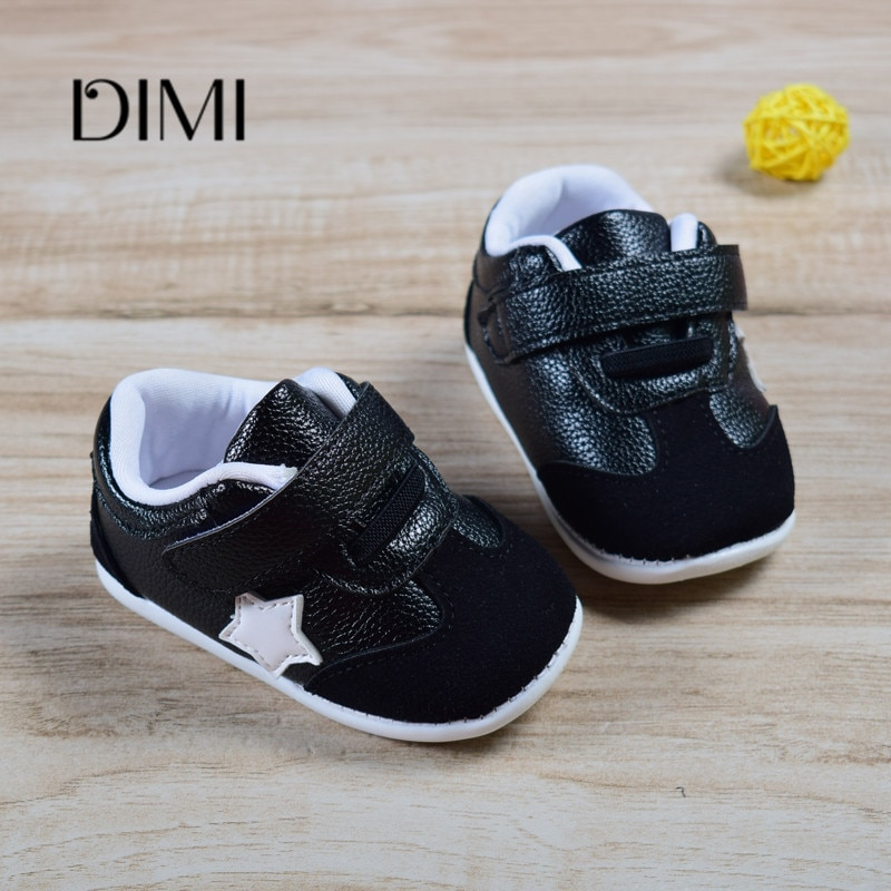 Newborn Baby First Walk Shoes Girls Boys Shoes Genuine Leather Baby Moccasins Prewalker Anti-slip Shoes Toddler Shoes For Kids