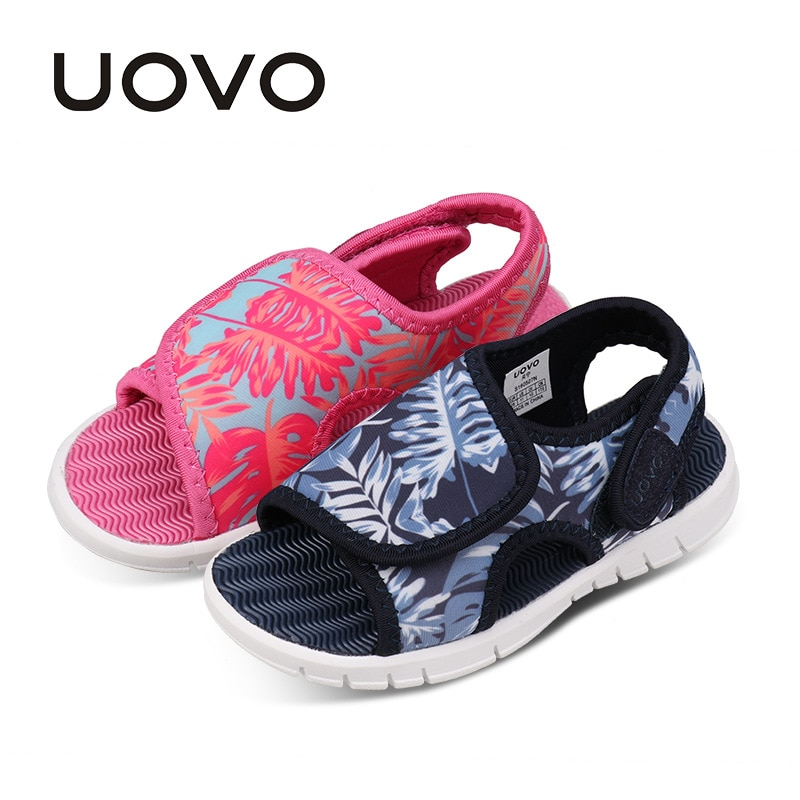 UOVO Baby Toddler Sandals 2018 Summer Shoes For Girls And Boys Light Weight Sole Children Sandals High Quality Size 24#-32#
