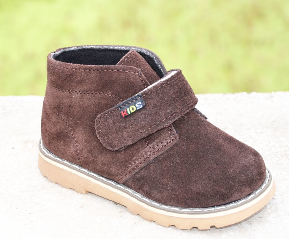 2017 new boys ankle shoes genuine leather suede boot spring autumn footwear for kids chaussure zapato menino children shoes