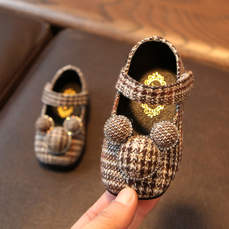 2018 Spring New Girls Princess Shoes Soft Bottom Lovely Toddler Shoes 0-1 Year Old Female Baby Shoes