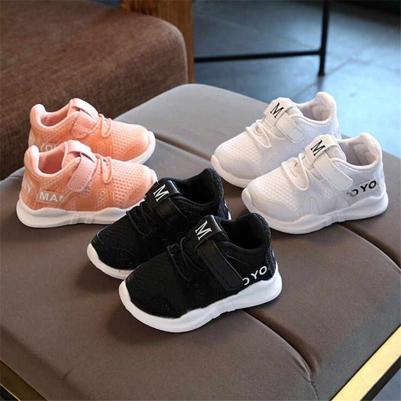 MHYONS Autumn Mesh Breathable Child Shoes Baby toddler boys girls sneakers shoes for kids sports sneakers children sneakers B706