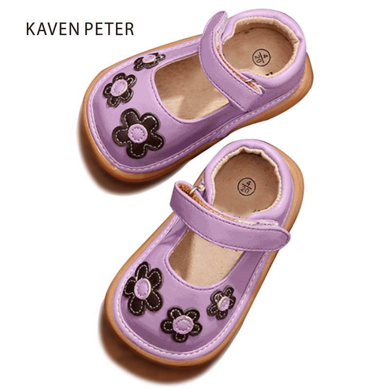 Princess Baby Kid Toddler Shoes Moccasins For Girls 2018 Autumn Spring summer children Beautiful Flower Shoes little kids shoes