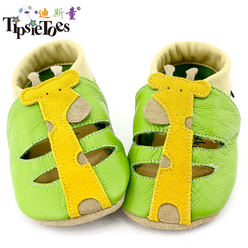 Tipsietoes Soft Leather Baby Boys Girls Infant Slippers 0-6 6-12 12-18 18-24 New Style First Walkers Skid-Proof Kids NMD Shoes