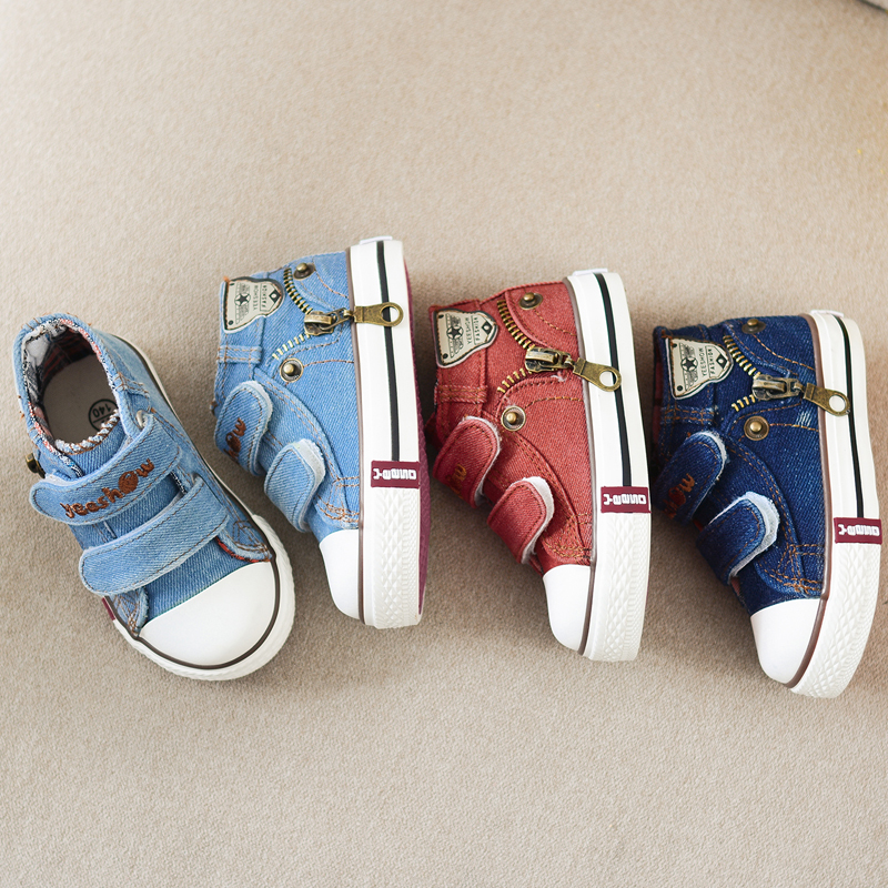 YEESHOW Original Brand baby canvas shoes boys sneakers infantil tennis shoes classic shoes children aaaa+++
