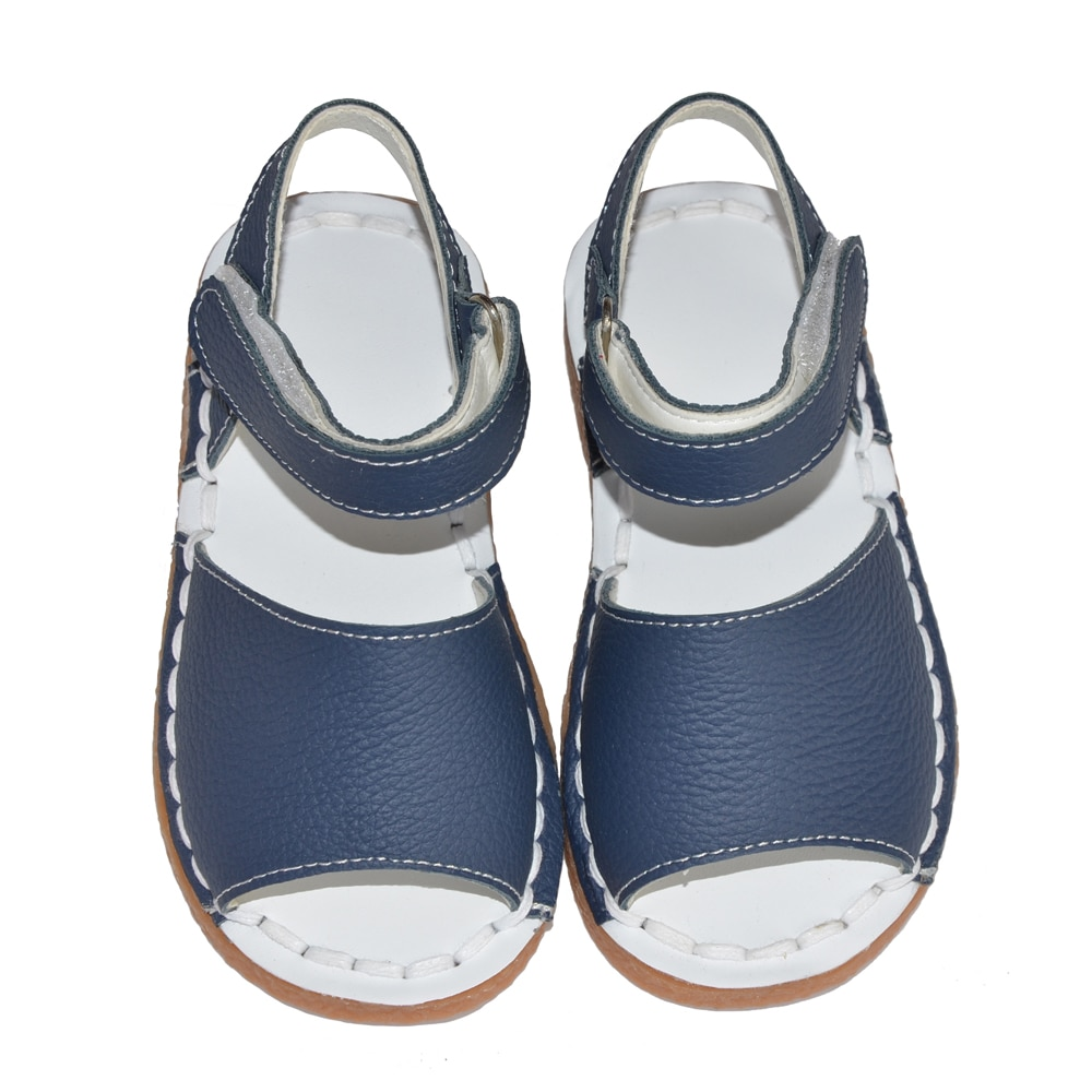 baby girls sandals 2017 summer kids pink white navy classic for little girls toddler shoes handsewing chaussure plain sandals